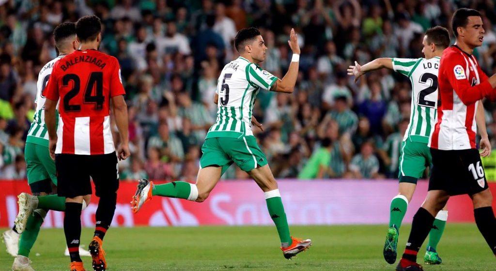 Gol de Bartra Betis Athletic